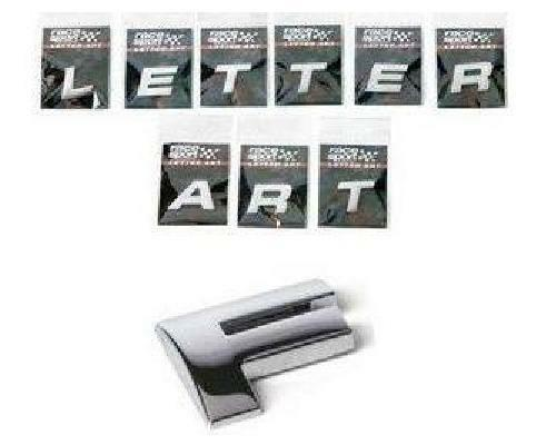 Chrome 3D Self-Adhesive Letter Car Badge Signs Stickers For Car /& Home ?,/%,!,@,/&