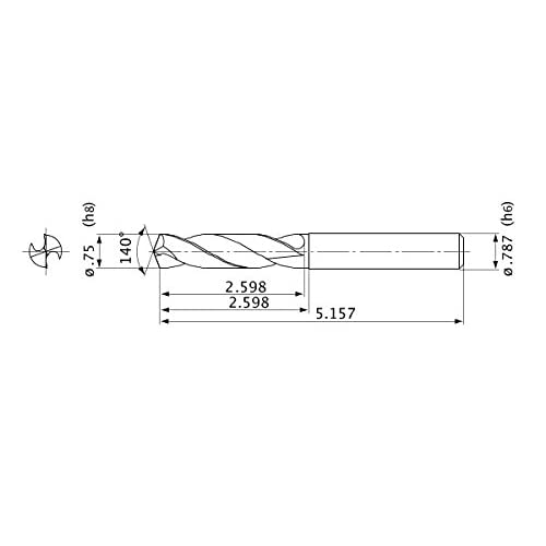 0.375 Shank Dia. 93/° Cutting Angle Heavy Metal Shank Left Mitsubishi Materials M-FSDUCL-062-C Screw Clamp Dimple Boring Bar with 0.250 IC Rhombic 55/° Insert