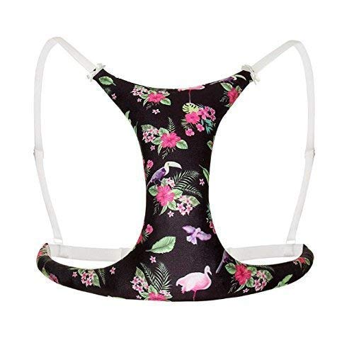 Roll Over Image to Zoom in Breast Support and Anti Wrinkle Black Size One Size