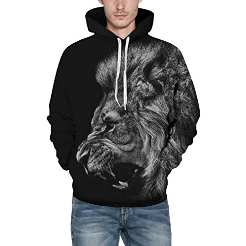 Sunfei Womens Hoodie Oh My God Pig Hoodie Pullover Long Sleeves Sweatshirt Clearance
