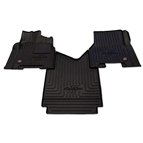 2010 Onwards Black with Red Trim MK2 Connected Essentials Tailored Custom Fit Heavy Duty Automotive Carpet Boot Mat Boot Liner for Sharan
