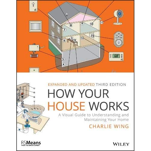 Image result for How you house works: A visual guide to understanding and maintaining your home - Charlie Wing.
