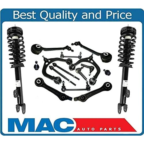2 Sway bar links/…/… Inner /& Outer Tie Rods Ends 10-Year Warranty- Both 2 Lower Control Arms 4 All Complete 10pc Front Suspension Kit for Toyota /& Lexus 2 Lower Ball Joint