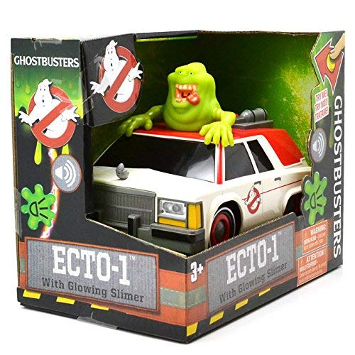 NKOK Ghostbusters Animated B//O Ecto1 with Slimer B//O 1 Ghost Catcher