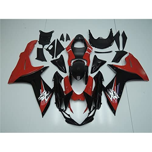 NT FAIRING Red Black Injection Mold Fairings Fit for Suzuki 2011-2015 GSXR 600 750 K11 GSX-R600 2011 2012 2013 2014 2015 Aftermarket Painted Kit ABS Plastic Set Motorcycle Bodywork