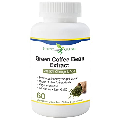 Potent Garden Green Coffee Bean Extract 100 Pure With
