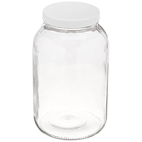 Vacuum Tight Seal 2.5 Gallon North Mountain Supply Plastic Fermentor with Easy Open White Screw Top Lid /& Drilled with Grommet