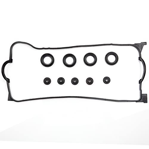 ECCPP Replacement for Valve Cover Gasket Set for 1990-1999 BMW 318i 318is 318ti Z3 1.8L 1.9L Engine Head Gaskets Kit