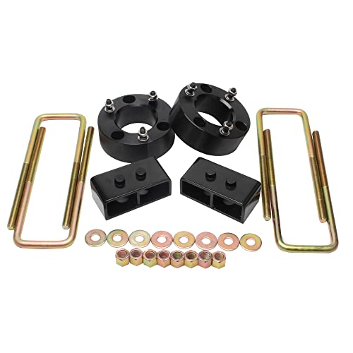 LHE 2 Rear Leveling Lift Kit Block for Chevy Toyota GMC Nissan