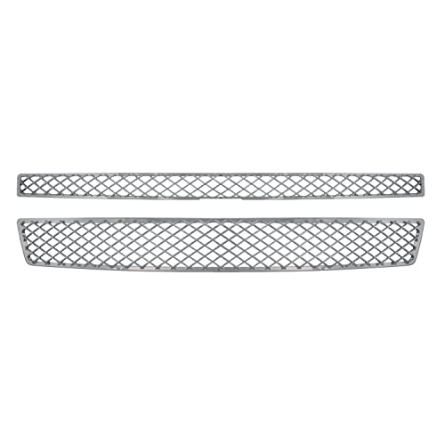 1 Piece Bully  GI-60 Triple Chrome Plated ABS Snap-in Imposter Grille Overlay