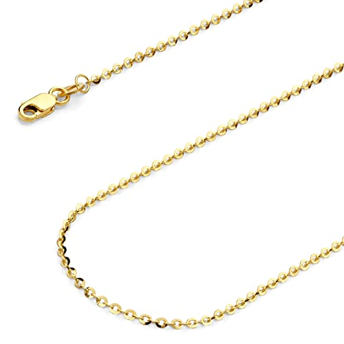 GoldenMine Fine Jewelry Collection 14K Yellow Gold Small Shell Pendant