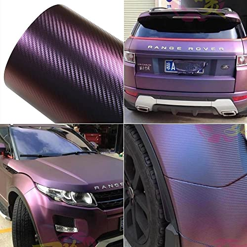 ATMOMO Laser Silver Colorful Glossy Car Vinyl Wraps Vehicle Film Decal Roll 1.52Mx75CM