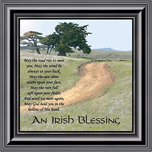 Buy Elegantly Yours An Irish Blessing May The Road Rise To Meet You Celtic Home Blessing Wall Decor 10x10 8586 Barnwood1 10x10 Online In Jordan B0779lxgzw
