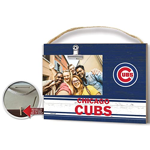 Fan Creations Chicago Cubs Team Name Clip-It Photo Frame