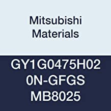 0.5 IC Mitsubishi Materials DNMG431MJ VP10RT Coated Carbide DN Type Negative Turning Insert with Hole 0.016 Corner Radius Pack of 10 Rhombic 55/° 0.187 Thick MJ Breaker