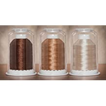 YELLOWS-Convenient Color Families-Hemingworth Machine Embroidery Thread-W// Dome