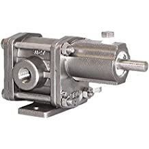 Rotary Gear Pump 1 HP 316 Stainless Steel 1 Phase 110 psi Oberdorfer Pumps S21016CAC1-N47