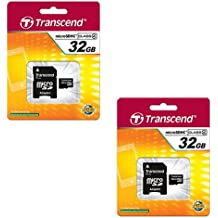 2 Pack Memory Cards SDHC AEE S71/ Camcorder Memory Card 2 x 16GB Secure Digital High Capacity