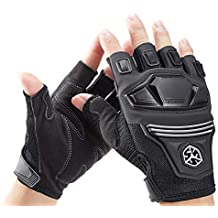 Black,L Scoyco Kevlar Fiber Carbon Fiber Shell Knuckle Reinforced Knight Locomotive Shatter-Resistant Breathable Full Finger Riding Racing Motorcycle Gloves