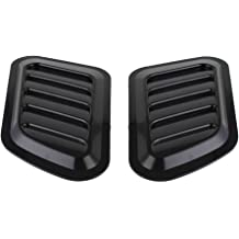 7BLACKSMITHS Jeep 13307.01 Hood Scoop Ram Air Vent Cowl Air Induction Fits on 87-95 Jeep Wrangler YJ