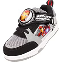 Parallel Import//Generic Product Joah Store Boys Avengers Light Up Sneakers Iron Man Captain America Cushion Shoes