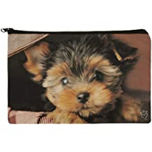 GRAPHICS /& MORE Yorkie Yorkshire Terrier Dog Red Bow Antiqued Bracelet Pendant Zipper Pull Charm with Lobster Clasp