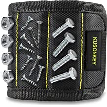 Boyfriend,gift For Husband,Blue,2Pack With 15 Powerful Neodymium Magnets For Holding Tools Screws Dad Magnetic Wristbands,best Gifts For Men