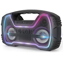 co2crea Hard Travel Case for AOMAIS 25W Bluetooth Speakers HD Stereo Sound Deep Bass Portable Outdoor Wireless Stereo Pairing Speaker