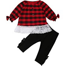 Aunavey Baby Boys 2 Pieces Rhino Fall Clothing Set T-Shirt Pants Outfits