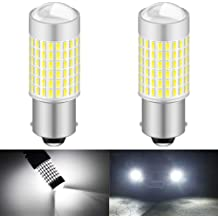 Pack of 2 KATUR 3157 3057 T25 P27//7W LED Bulbs Super Bright 12pcs 3030 /& 8pcs 3020 Chips Canbus Error Free Replace for Turn Signal Reverse Brake Tail Stop Parking RV Lights,Brilliant Red