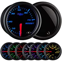 2 UV Protected Mounts 2-1//16 52mm GlowShift Gray Full Size Dual Pillar Gauge Pod for 1999-2007 Ford Super Duty F-250 F-350 Power Stroke Gauges to Trucks A-Pillar Factory Color Matched