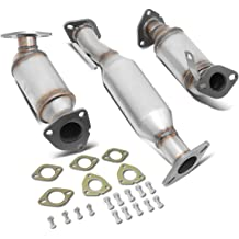 EPA Compliant PARTS-DIYER Front Exhaust Manifold Flex Pipe Catalytic Converter fit for 2002-2006 Toyota Camry 2.4L 55435
