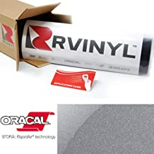 Avery SW900 833-O Satin Gray Supreme Wrapping Film Vinyl Vehicle Car Wrap Sheet Roll 12 x 60 w//Application Card