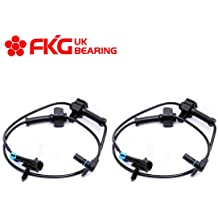 FKG ABS Wheel Speed Sensor Rear Left and Right ALS1757 For 2007-2013 Chevy Silverado 1500 2007-2013 GMC Sierra 1500