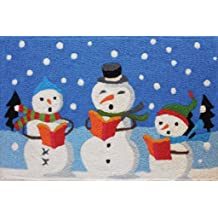 Jellybean Rug Snowman With Magic Hat 21 X 33 Home Comfort