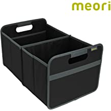 1-Pack meori Granite Foldable Box Medium Grey Home Office Standard Shelf Container Shirts Linens Farmers Market up to 65lbs