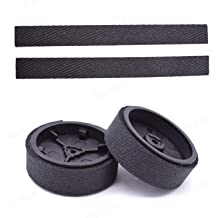 Xigeapg Accessories Replacement Filters//Mop Cloths//Side /& Roller Brush//Hook Stickers for DEEBOT OZMO 600 601 605 Cleaner Parts