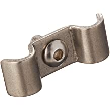 Helix 11109 5//8 Stainless Steel Single Line Clamp 12 Pack