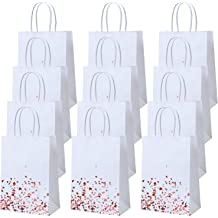 Pink LanTian Wine Bag 10 Packs 14 x 6.5 Inch Burlap Wine Bags Drawstring Pouch Bottle Gift Bags for Wine Tasting Party Dinner Birthday Wedding Favors Christmas Thanksgiving Halloween