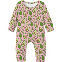 Vogseek Newborn Baby Girl Romper Long Sleeve Footless Bodysuit One Piece Jumpsuit Outfits Fall Clothes 0-18M