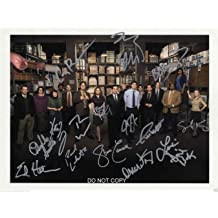 """The Big Bang Theory Reprint Signed 8x10/"""" Cast Photo #1 RP Autographed"""