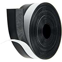 """M M SEALS A063-13F Sponge Rubber Seal with Self Adhesive 0.39/"""" Height X 1.18/"""" Width Universal weatherstrip Extrusion Neoprene Strip 13 Feet"""