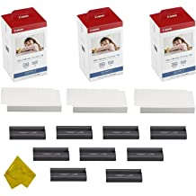 "KP-108IN Color Ink /& Photo paper Set for Canon Selphy CP780 CP910 CP1300 4/"" x 6/"""