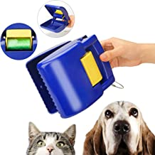 Pooper Scooper with Bag Pet for Small Medium Dogs Cats Outside Three Colors Optional Two in One Design