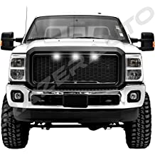 Chrome for 2015-2017 Chevy Colorado /& 2015-2017 GMC Canyon Razer Auto Triple Chrome Gas Door Cover for Long Truck bed ONLY!