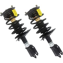 Complete Strut Assembly Shock Absorber Coil Spring Kit Repl. Monroe # 172363, 172364 Shoxtec New Front Pair Fits 2005 2006 2007 2008 2009 2010 Toyota Sienna FWD 2