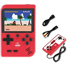 Aiboria Retro Game Console Classic Handheld Video Game Console AV Mini TV Game Console Built-in 620 Classical Game Dual Control 8-Bit Childhood Game Player Console for Boys Kids /& Adults