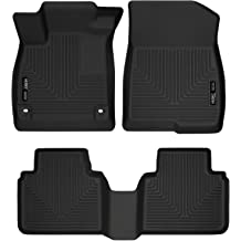 Husky Liners Fits 2015-19 Ford Edge Weatherbeater Front /& 2nd Seat Floor Mats