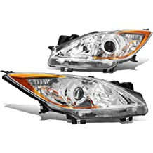 DNA MOTORING HL-OH-099-BK-AM Toyota Camry Headlight Assembly Driver And Passenger Side