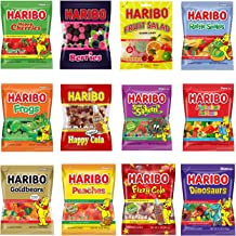 the best attitude b8683 fc032 Haribo Gummy Gummies Candy Assorted Variety (Pack of 12)